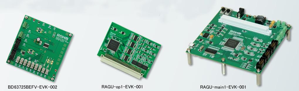 ROHM製品のモータードライバLSI評価ツール「RAGU®」 製品画像