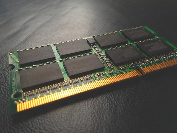 メモリのひとつのRAM