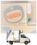 冷蔵冷凍トラックの写真