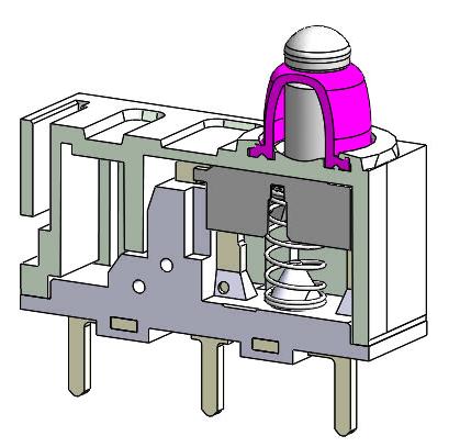 アルプスアルパインの防塵防水検出スイッチ